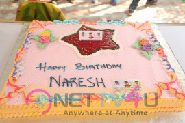 Actor Naresh Birthday Celebrations Images Telugu Gallery