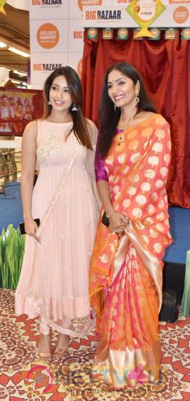 Nivetha Pethuraj Launched Golden Harvest Sona Masoori Rice Brand At Big Bazaar Stills