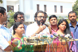 Stunning Photos Of Nadigar Sangam Press Meet Regarding Actress Bhavana Issue Tamil Gallery