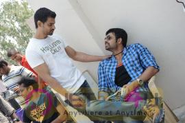 Ek Movie Working Stills Telugu Gallery