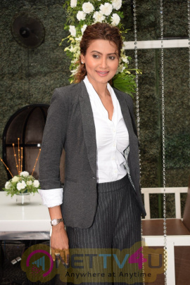 Gauhar Khan At Launch Of Her New Fashion Line Website- Gauhargeous Pics  Hindi Gallery