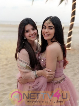 Adah Sharma On A Friend's Wedding