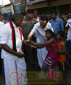 DMK Leader MK Stalin Meet People Directly At Thiruvarur Images
