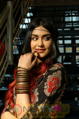 Adah Sharma Showcasing Craftsvilla Indian Ethic Wear Fashion Hindi Gallery