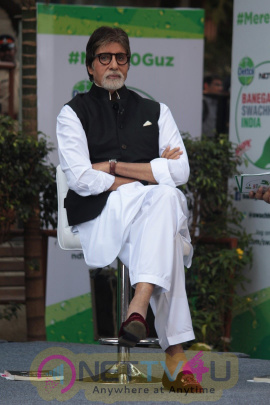 Amitabh Bachchan At Dettol Banega Swachh India Season 4 Campaign