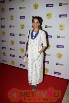 Actress Shruti Seth At Red Carpet Screening Of The Film Zookeepers Wife Pics