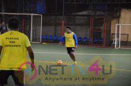 Sachiin J Joshi Came To Playing Soccer At ASFC (All Stars Football Club)