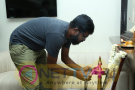 Pallu Padama Paathuka Movie Dubbing Pooja Photos In Knack Studios Images Tamil Gallery