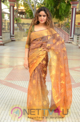 Actress Sony Charista Stunning Images  Telugu Gallery