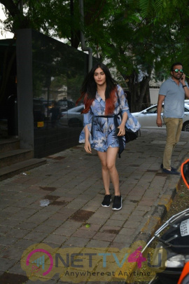 Adah Sharma Spotted At Khar Coffee Shop Cute Images  Hindi Gallery
