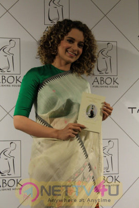 Kangana Ranaut Attends Book Launch For Her Dear Friend Photos Hindi Gallery