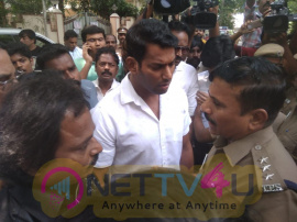 Vishal Reddy The TFPC President Arrested For Breaking The Lock In TFPC Pics Tamil Gallery