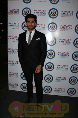 Namaste America And America Consulate Host A Party In The Honor Of Oath And Speech US President Donald Trump Photos Hindi Galle