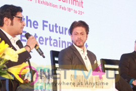 Shah Rukh Khan At Magnetic Maharashtra Convergence 2018 Hindi Gallery