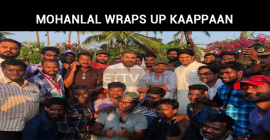Mohanlal Completes His Kaappaan Schedule!