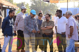 Baahubali 2 Tamil Movie Excellent Working Stills