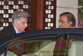 Dinner Party In Honour Of Dr Thomas Bach International Olympic Committee  By Ambani At Antilla