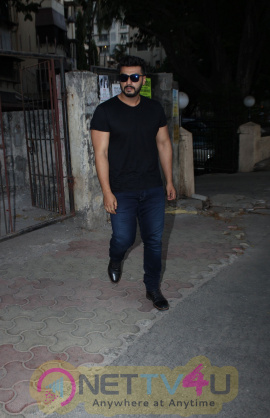 Arjun Kapoor Came To Shoojit Sircar Office In Bandra
