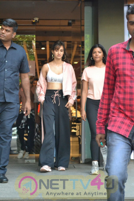 Disha Patani Came To Khar