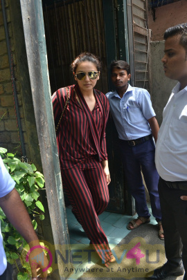 Huma Qureshi Came To Bandra