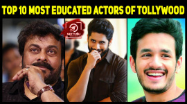 Top 10 Most Educated Actors Of Tollywood