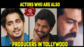 Actors Who Are Also Producers In Tollywood
