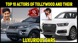Top 10 Actors Of Tollywood And Their Luxurious Cars