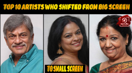 Top 10 Artists Who Shifted From Big Screen To Small Screen