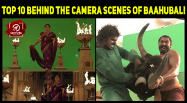 Top 10 Behind The Camera Scenes Of Baahubali
