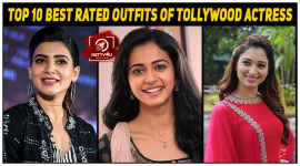 Top 10 Best Rated Outfits Of Tollywood Actress