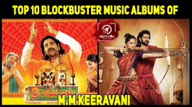 Top 10 Blockbuster Music Albums Of M.M Keeravani