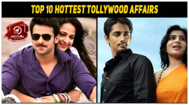 Top 10 Hottest Tollywood Affairs