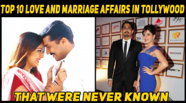 Top 10 Love And Marriage Affairs In Tollywood That Were Never Known