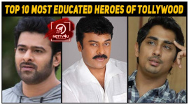 Top 10 Most Educated Heroes Of Tollywood
