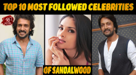 Top 10 Most Followed Celebrities Of Sandalwood