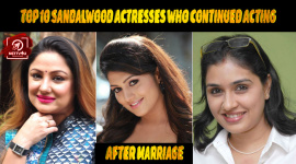 Top 10 Sandalwood Actresses Who Continued Acting After Marriage