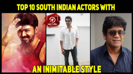 Top 10 South Indian Actors With An Inimitable Style
