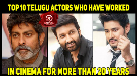 Top 10 Telugu Actors Who Have Worked In Cinema For More Than 20 Years
