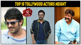 Top 10 Tollywood Actors Height