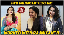 Top 10 Tollywood Actresses Who Worked With Rajnikanth