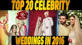 Top 20 Celebrity Weddings In 2016