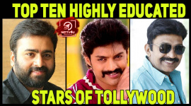 Top Ten Highly Educated Stars Of Tollywood