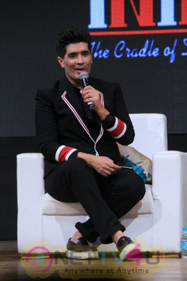 Launch Of Learn From Manish Malhotra At  St. Andrews Roman Catholic college in Bandra Best Images