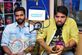 Second Single Collegee Agelona Song From Ee Nagaranika Emaindhi Exclusively Launched  In Radio City Superb Images