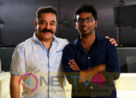 Actor Kamal Haasan Appreciates The Film Traffic Ramasamy And Their Team Cute Images