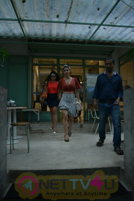 Mouni Roy Spotted At Kitchen Garden In Bandra Pretty Images  Hindi Gallery