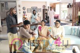 Director K S Ravi Kumar At Jansons Dhoti Advertisement Making Stills Tamil Gallery