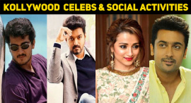 Top 10 Kollywood Celebrities Who Are Social Activists