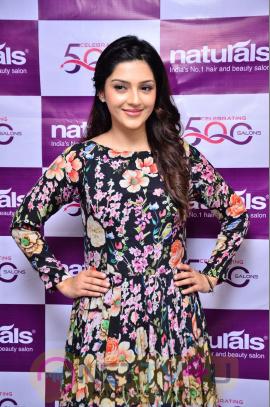 Mehreen Pirzada Inaugurates Naturals Beauty Salon At Sanath Nagar Pics Telugu Gallery
