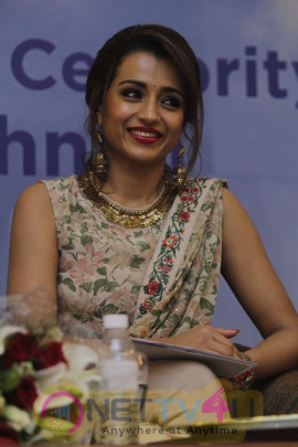 Trisha Conferred UNICEF Celebrity Advocate Status Pics Tamil Gallery